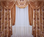 Светонепроницаемый комплект штор Версаль С из блэкаута