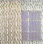 Органза с вертикальными волнами