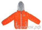 Куртка Moncler оранжевая