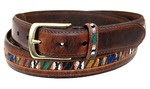 ремень Columbia Men's 32mm Oil Tan Guatemalan Belt