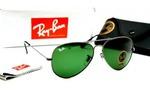 солнцезащитные очки RB -3025 метал зеленый