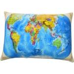 Подушка Игрушка Карта мира