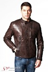 Куртка кожаная KREZZ