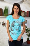 Блуза женская  Миледи (кулирка)