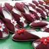 тапочки женские красные