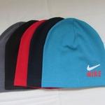 шапка подростково-взрослая двойная короткая