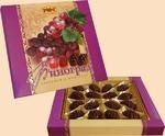 Конфеты «Виноград ликерный в шоколаде», 160гр