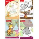 Белый картон А5 8 листов для детского труда