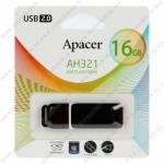 Флеш-накопитель 16Gb Apacer USB 2.0 AH321 Red