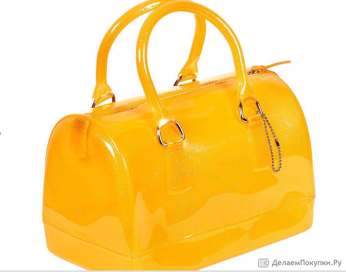 Брендовая силиконовая сумка furla оригинал Furla