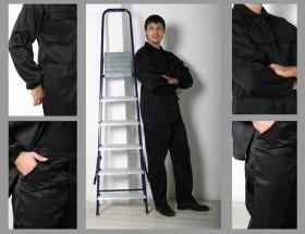 Костюм рабочий камуфляж с усилением на локтях и коленях, С-042