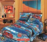 КПБ - Бязь- Самойловский текстиль - Детский комплект - Ралли1,5 спальное