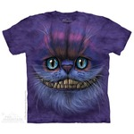 Big Face Cheshire Cat Kids T-Shirt