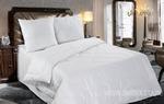Набор Семейный Лебяжий пух в тике (одеяло + 2 подушки 77)2 спальное