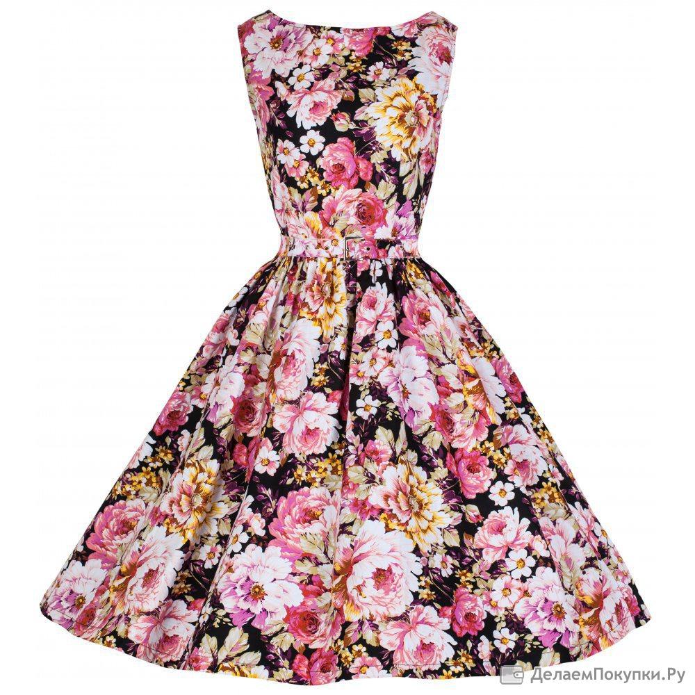 цветочное платье своими руками