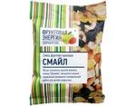 Смесь фруктово-ореховая «СМАЙЛ» 50г (маленькая пачка) – миндаль, кешью, ананас, изюм Джамбо,