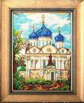 Набор д/выш. бисером В-401 Дорога к храму 18, 5х26 см (Россия)