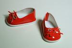 Туфли лаковые красные