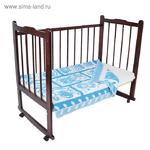 """Одеяло байковое детское хлопчатобумажное """"Ермошка"""", жаккард, размер 118х100 см, 470 г/м2, принт микс"""