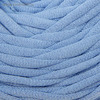 Пряжа трикотажная, светло-голубой, ширина нити 5-6 мм, 50 м, 130 г