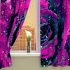 """Фотошторы на кухню """"Пурпурная роза"""""""