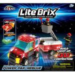 """Конструктор Lite Brix (Лайт Брикс) """"Служба спасения. Машина"""""""