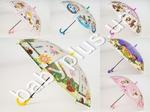 Зонтик детский, длина 54см, трость 67см, диаметр 85см, спица 48,5см, клеенка, 5 видов