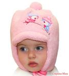 Зимняя шапочка для девочки р-р 46