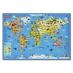 Настенная карта «Мой мир» 101х69