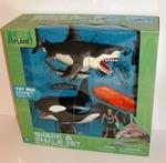 Great White Shark & Killer Whale Playset - Animal Planet