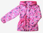 4220 Куртка для девочек на флисе (ростовка 92-128)