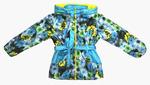 4221 Куртка для девочек на флисе (ростовка 92-128)