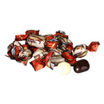 Клубника в бел шоколадной глазури  в  обертке  (цена за 500грамм)
