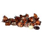 Миндаль в тем шоколадной глазури  в  обертке  (цена за 500г)