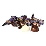 Чернослив в бел шоколадной глазури  в  обертке (цена за 500грамм)
