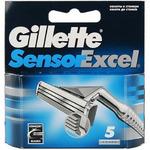 *Gillette Sensor Excel сменные лезвия (5 шт)