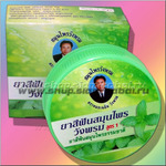 Круглая зубная паста Ванг Пром с мятой