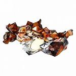 Абрикос в бел шоколадной глазури  в  обертке  (цена за 500грамм)