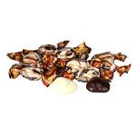 Грецкий в тем шоколадной глазури  в  обертке   (цена за 500грамм)