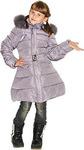 Пальто пуховое для девочки