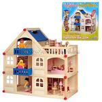 Кукольный дом 3 этажа