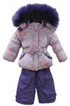 Зимний комбинезон для девочки (цвет в ассортименте)