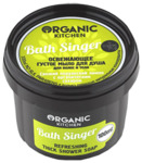 """""""Organic shop"""" KITCHEN Мыло д/душа освеж.густое. Для волос и тела""""Bath Singer""""100мл"""