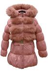 Пальто (с жилеткой) для девочки (цвет в ассортименте)