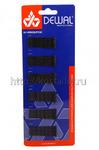 `Невидимки волна Dewal на картоне 60 шт/уп  3011В-1 Чёрные Код товара: 1923
