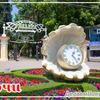 Магнит на холодильник виниловый с символикой города Сочи.СЧ-10-003