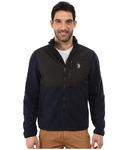 U.S. POLO ASSN. Polar Fleece Mock Neck Jacket