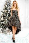 Коктейльное платье бюстье 42 44 46