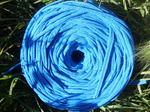 Трикотажная пряжа цвет темный голубой