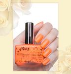 лак Матовый эффект 142neon оранжевый 16 мл